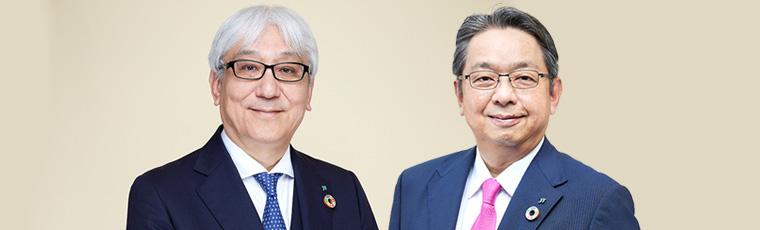 木村 宏(写真左) 涌井 洋治(写真右)